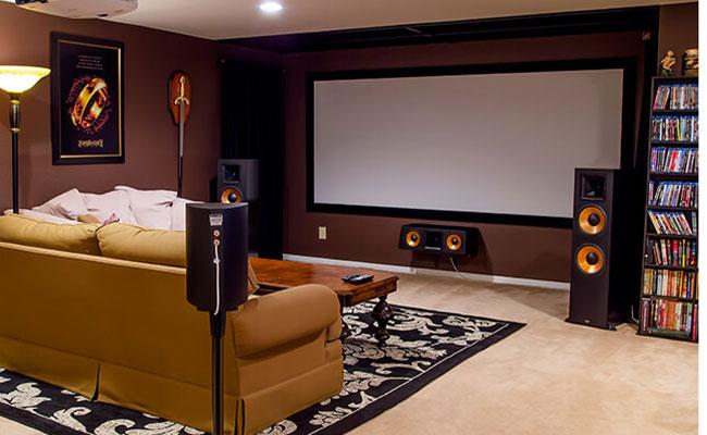 evde sinema odası ses yalıtımı