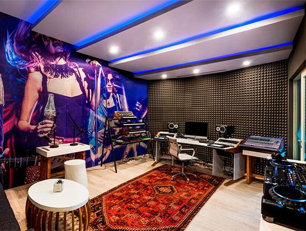 stüdyo odası akustik düzenlemeler